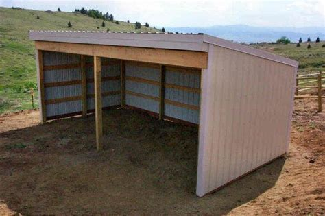 loafing shed plans horse shelter horse barn interior plans