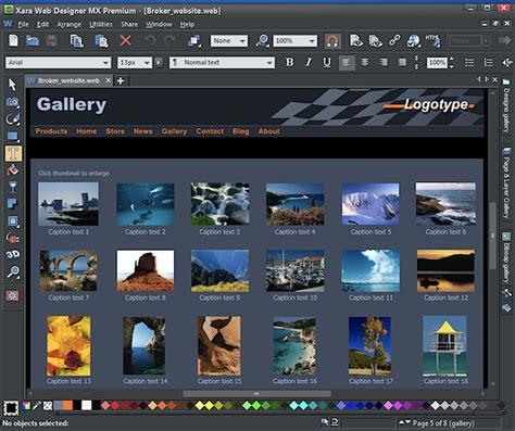 xara web designer xara web designer mx 8 premium review