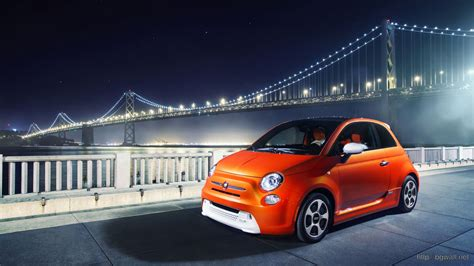 Fiat Backgrounds by 2014 Fiat 500e Wallpaper In 1920 215 1080 Resolution