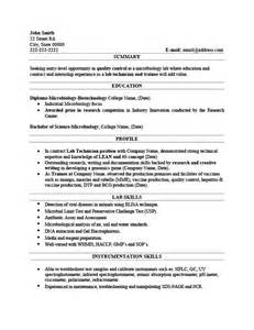 lab technician resume pdf lab technician resume template premium resume sles exle