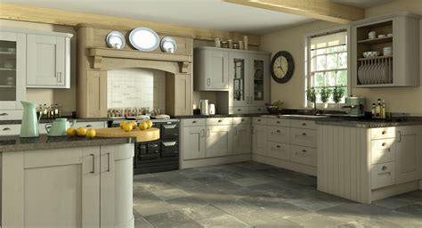 Hand Painted Shaker Kitchens