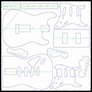 stratocaster vibrato guitar routing templates faction With stratocaster routing template