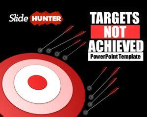 targets  achieved powerpoint template