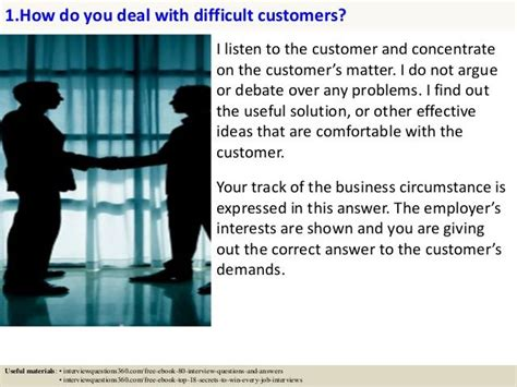 What Does Customer Service To You Answer by 125 Customer Service Questions And Answers Pdf