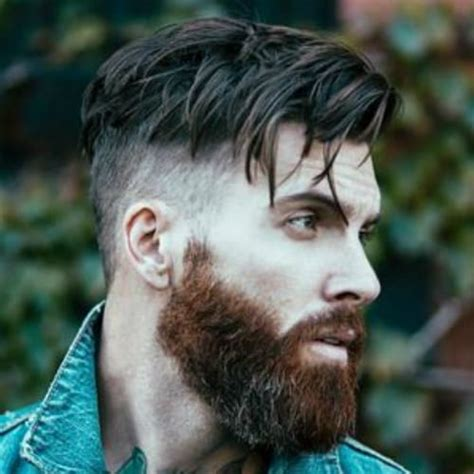 splendid shaved sides hairstyles  men men