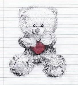 Heart Teddy Bear by IanWinchester on DeviantArt