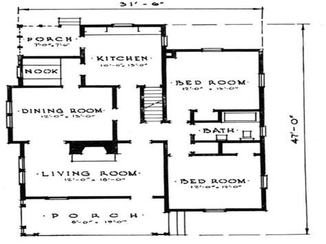 small  bedroom house plans small home plan house design