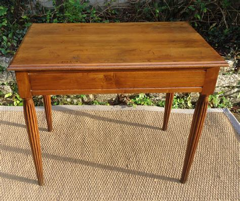 table bureau en bois naturel