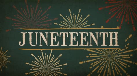 Why Juneteenth Such Important Holiday Youtube