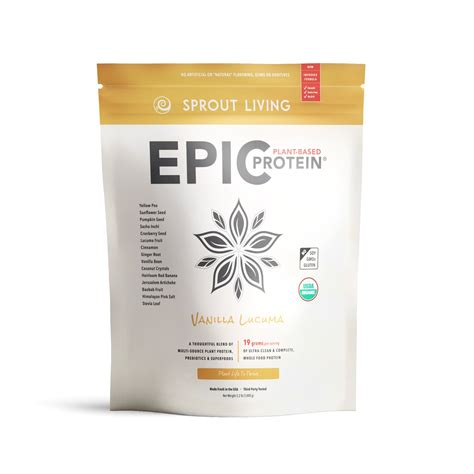 Amazon.com: Sprout Living Epic Protein Powder, Chocolate
