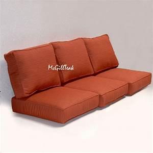 outdoor deep seating sofa cushion sunbrella cushions With garden furniture seat cushion covers