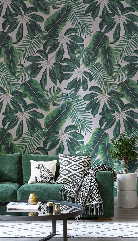stylish  timeless tropical leaf decor ideas digsdigs