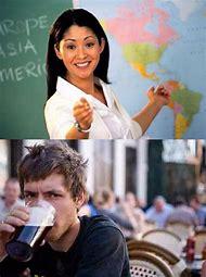 Unhelpful Teacher Meme Template