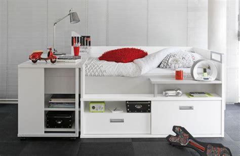 chambre ado gautier lit pour adolescent avec de nombreux rangements et un