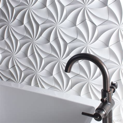 25 Spectacular 3d Wall Tile Designs To Boost Depth And