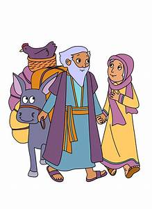 Abraham face bible clipart no background