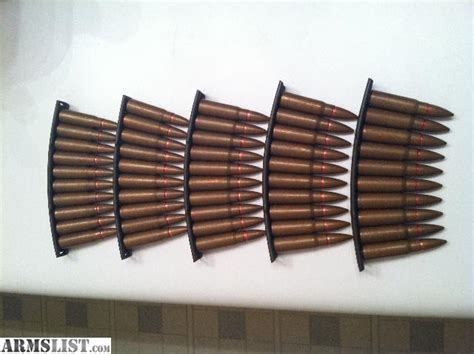 50 Rounds Of 7.62x39 (ak 47