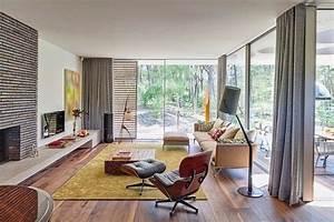 amenagement salon plus de confort en 29 idees cool With tapis de yoga avec canapé télé