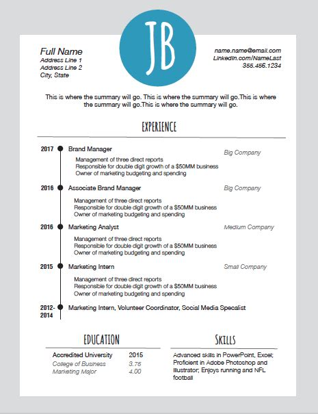 Resume Ppt by Free Resume Template With Initials Ppt Today