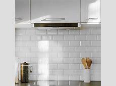 White Kitchen Tiles Design Decoration