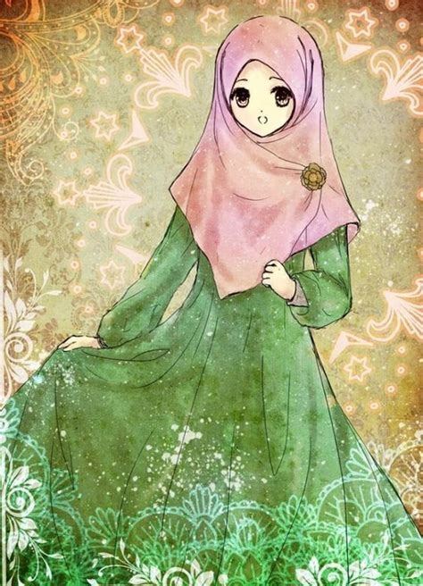 anime hijab simple hijabs anime and simple dresses on pinterest