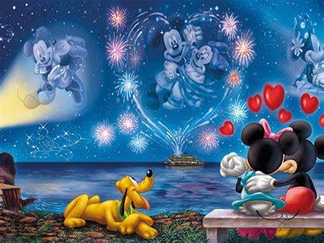walt disney mickey  minnie love couple wallpaper hd