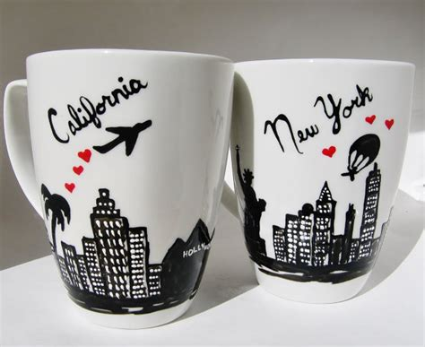 Long Distance Relationship Mug, Gift for Couples, Friendship, Personalized ORDER BY DEC. 20TH