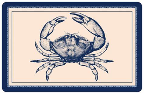 nautical sensation sealight floor l nautical crab mat sku mk 0047