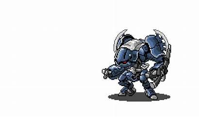Wars Pixel 2d Mecha Roguelike Dead Sprite
