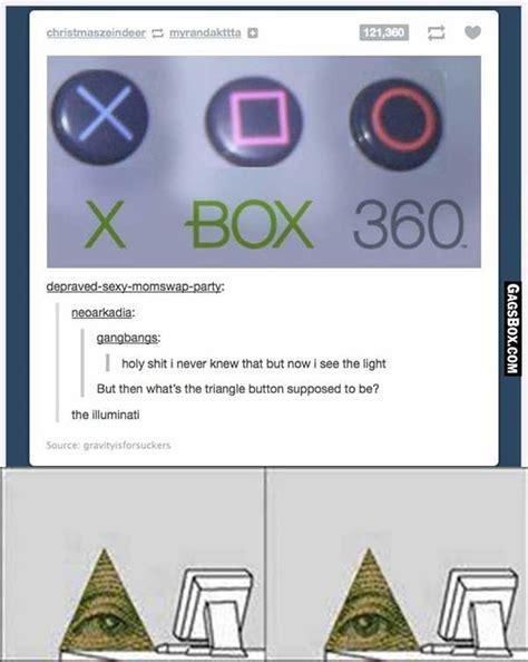 Illuminati Triangle Meme - microsoft is illuminati confirmed funny meme tumblr fun unlimited pinterest playstation