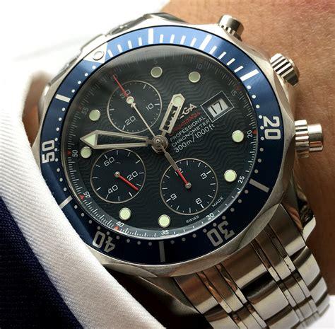 omega seamaster  automatic chronograph diver vintage