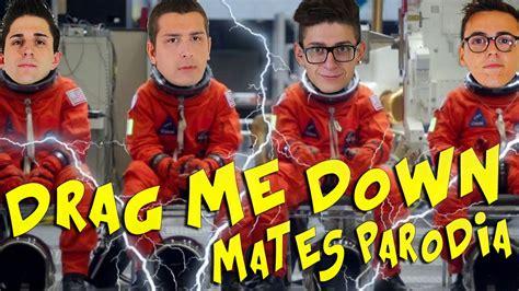 drag me down not angka mates drag me down parodia youtube