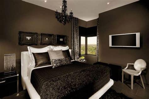 chocolate brown master bedroom los 10 colores que mejor combinan con el negro en decoraci 243 n 14815 | colores combinan negro marron 1