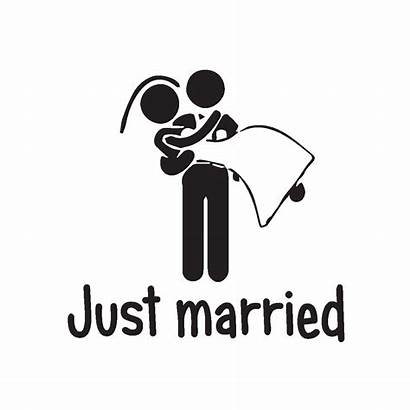 Married Sticker Voiture Stickers Jus Autocollants Ambiance