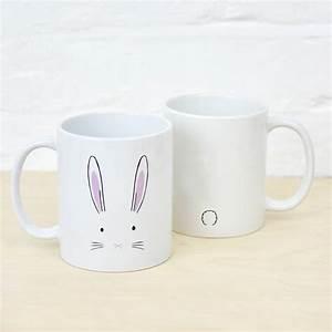 Mug à Thé : bunny rabbit mug by ellie ellie ~ Teatrodelosmanantiales.com Idées de Décoration