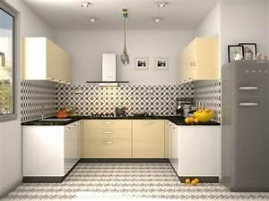 Fabio U Shaped Modular Kitchen Designs India HomeLane