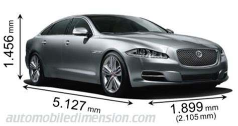 Jaguar Xf Length by Dimensions Of Jaguar Cars Showing Length Width And Height