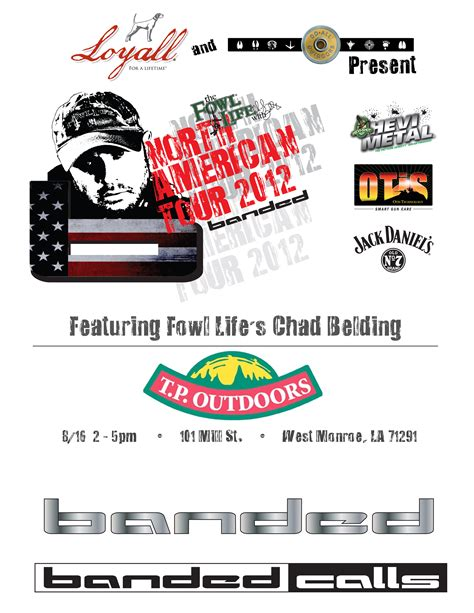 Chad Belding Is Coming To Tp Outdoors In West Monroe