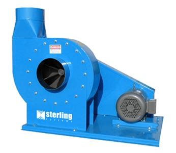 sterling blowers cyclones product categories blades machinery