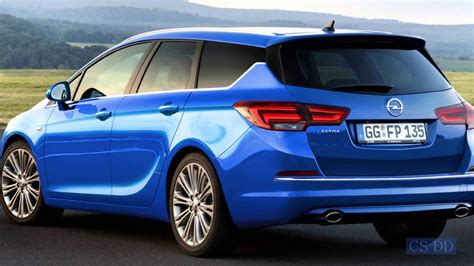 Opel Astra Sport by 2016 Opel Astra Sports Tourer Concept