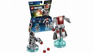 Lego Dimensions DC Comics Fun Pack Cyborg On PS4