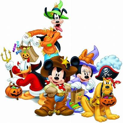 Disney Halloween Characters Mickey Christmas Clipart Mouse