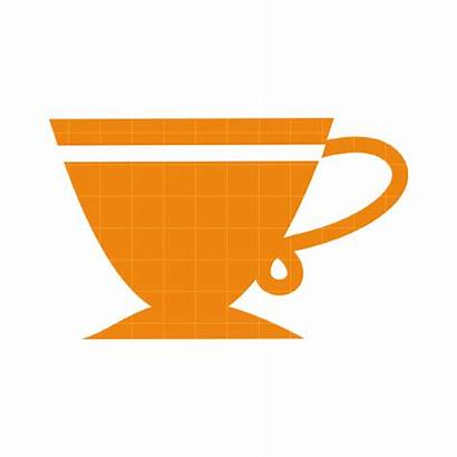 Tea Cup Clip Clipart Teacup Silhouette Purple