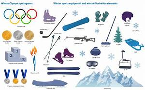 Gallery For > Olympic Clipart Winter Spots