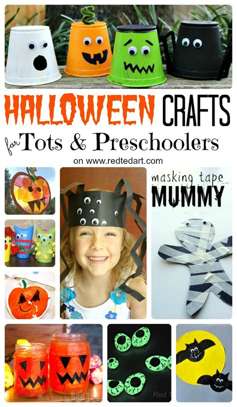 37 amp easy crafts for toddlers and preschool 982   Halloween Crafts Toddlers