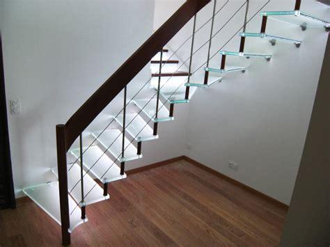 escalier en verre righetti