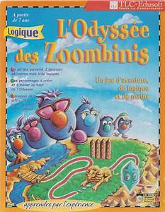 Logical Journey Of The Zoombinis  1996  Macintosh Box