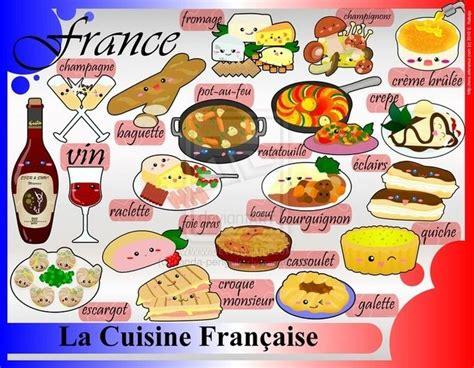 jeux de cuisine en francais les spécialités françaises fle civilisation
