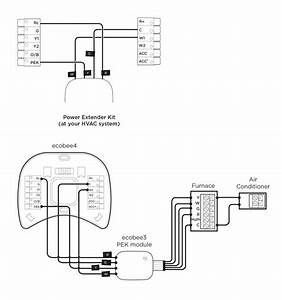 Please Help I Have An Unusual Wiring Issue Ecobee Wiring Diagram