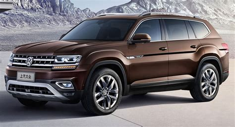 New Volkswagen Teramont Is China 39 S Atlas Suv